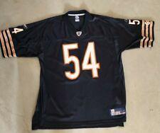 Reebok NFL Chicago Bears GSH Brian Urlacher Jersey #54 Size XL 🏈