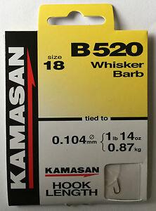 5pks SIZE 20 KAMASAN B611 FISHING HOOKS