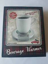 Nib Limited Edition Beverage Warmer for Coffee, Tea, Soup, Cocoa Brand New,Xmas