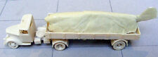 MGM 080-280 1/72 Resin WWII German Ford V3000 S Truck Tractor and Trailer