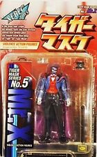 Tiger Man Mask Series Uomo Tigre Japan MR.X XEBEC TOYS KAIYODO N.5 FIGURE