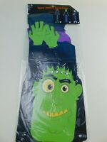 "Halloween Decoration 54"" DIECUT Frankenstein Jointed CUTOUTS Door Decor Haunted"