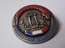 Pin's Police / Commissariat du VIe arrondissement Paris