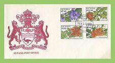 Flowers Guyanese Stamps