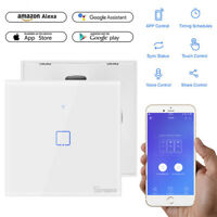 SONOFF Smart WiFi Wireless Panel Touch Switch Wall Light Control indor/outdor UK