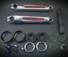 Redline Proline Cranks 180mm single bolt BMX Old Mid school USA BB Complete Set