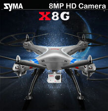 Syma X8G 2.4Ghz 6-Axis Gyro 4CH RC Drone Quadcopter With FPV 8MP 1080P HD Camera
