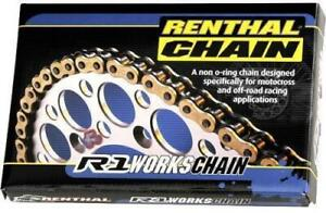 Renthal 520x116 Links R1 Works Series non-Oring Gold Chain Chain C126 80-1915