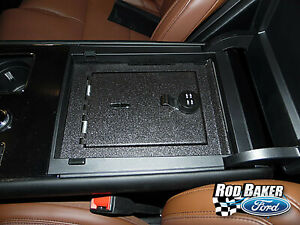 2020 Lincoln Aviator Center Console Vehicle Safe - 4-digit Combination Lock Safe