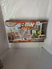 Sonix City Rescue Interactive Playset Over 100 Sounds & 2 Micro Vehicles Police