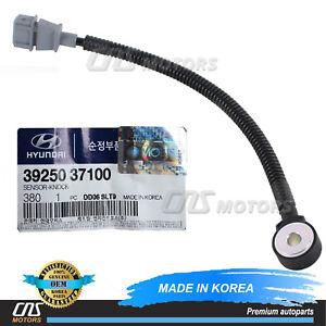 GENUINE Knock Sensor PASSENGER for 99-10 Hyundai Kia 2.5L 2.7L 3925037100⭐⭐⭐⭐⭐