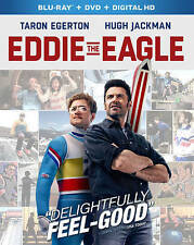 Eddie The Eagle [Blu-ray] DVD, Hugh Jackman, Taron Egerton, Dexter Fletcher