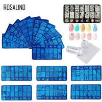 ROSALIND Nail Art Stamping Plates Pattern Stamp Image Plates stencil Templates