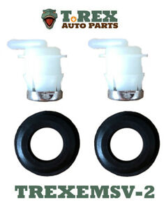 Jeep Cherokee/Wagoneer/Comanche gas tank emission (2)grommets and valves