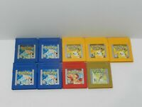Nintendo Original Game Boy Games Pokemon Fun You Pick & Choose Video Games Lot