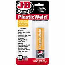 J-B Weld 8237 PlasticWeld Plastic Repair Epoxy Putty - 2 oz