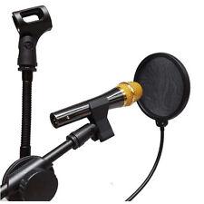 NEU Profi Popschutz Popkiller Pop-Schutz für Mikrofon Mic Maske Studio 1Stk Gift