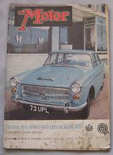 Motor 6/9/1961 featuring Sunbeam Rapier, Bristol 407, Triumph TR4
