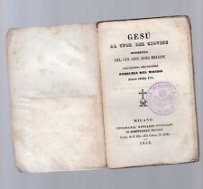 gesu' al cuor del giovine operetta del can.giuseppe zama mellini - 1848