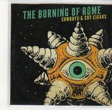 (DK486) The Burning Of Rome, Cowboys & Cut Cigars - 2012 DJ CD