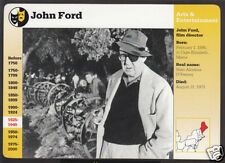 JOHN FORD Film Movie Director Photo Biography GROLIER STORY OF AMERICA CARD
