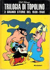 Walt Disney - Trilogia di Topolino  Mondadori Ed.Fuori Commercio 1969