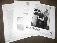 BUILT TO SPILL Ancient Melodies Of The Future Press Kit With 8x10 Promo Photo