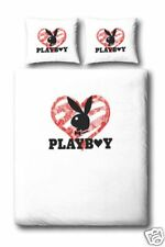 PLAYBOY DUVET COVER/BED SET GLITTERHEART SINGLE SEALED