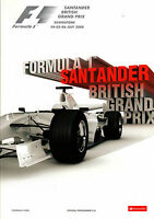 SANDTANDER BRITISH GRAND PRIX Silverstone Formula 1 Motor Racing 1st. July 2008