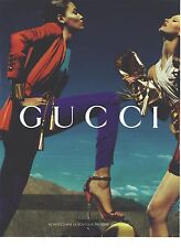 PUBLICITE ADVERTISING 2011 GUCCI chaussures escarpins