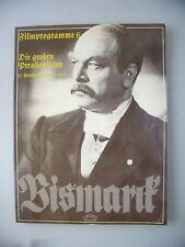 Filmprogramme Bd.6 Preußenfilme Bismark
