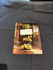 Home Interiors & Gifts Homco Brochure Sales Catalog 2005 Vintage