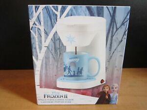 Frozen II Disney 1 cup Coffee Machine Maker NEW Inc-- Coffee Mug & Perm. filter
