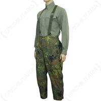 Original Waterproof Flecktarn Trousers - Goretex Genuine German Army Surplus