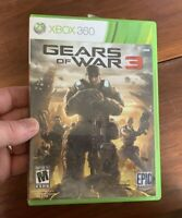 Gears of War 3 (Microsoft Xbox 360, 2011) tested & complete