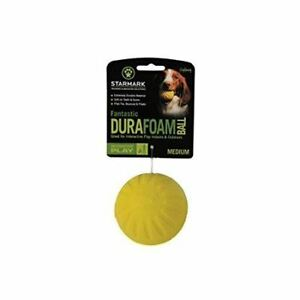 Everlasting Dog Toy Fantastic Ball Assorted Colours Foam - Soft and Lightweight