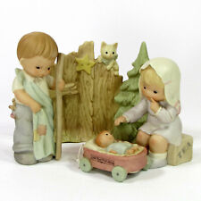 Enesco A NATIVITY PAGEANT 4Pc Set Memories of Yesterday Lucie Attwell MIB 602949