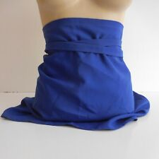 Tablier vêtement cuisine bleu design vintage IL CAMICE made in ITALY N4299