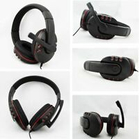 Replacement For PS4/Computer 3.5mm Wired Microphone Headphones Gaming Headset