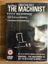 The Machinist DVD with Christian Bale