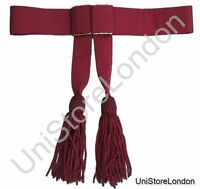 Army Sash, Waist Belt, Maroon Waist Sash R168