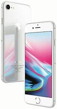 Apple iPhone 8 - 64GB - Silver (Verizon) A1863 (CDMA + GSM) MQ732LL/A