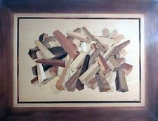 LUMBER PILE, VENEERED ARTWORK