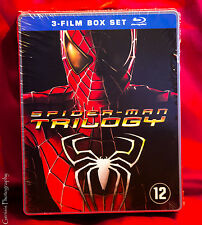 Spider-Man / Spiderman Trilogy [ 2011 ] Limited Edition Steelbook [ Blu-Ray ]
