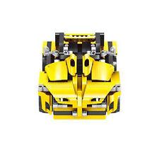 Remote Control Suv Car Building Block Toy - Yellow