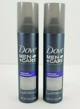 Dove Men Care Control Spray Full Look Strong Hold Natural Finish Unscented 7oz 2