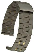 Titan Uhrenarmband mit Clipverschluss 18 mm gerader Anschluss Uhrband Titanband