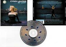 "CYNDI LAUPER ""At Last"" (CD) 2003"