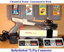 NES Console Bundle + Super Mario Bros 1 2 3 & Donkey Kong -BEST PINS -Guaranteed