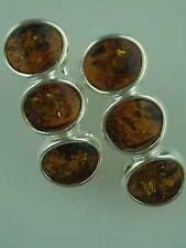 Markenlose ovale Ohrschmuck mit Edelsteinen